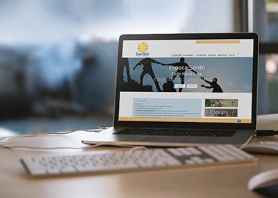 Refonte du site web Espace Santé Dôle Nord Jura